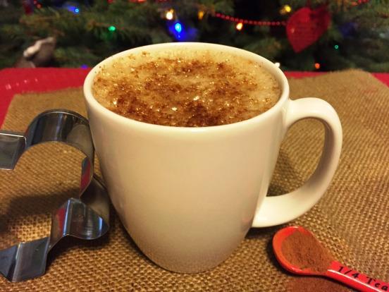 gingerbread steamed milk