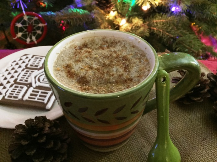gingerbread steamed milk