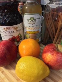 ingredients for winter sangria