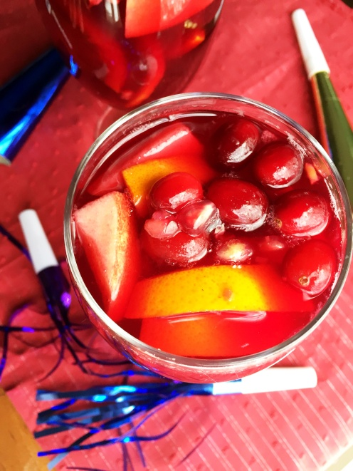 Winter Sangria for New Years