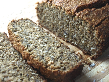 coconut buckwheat oat banana bread