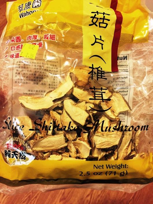 shitake dried