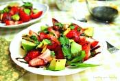 strawberryavocadowithglaze