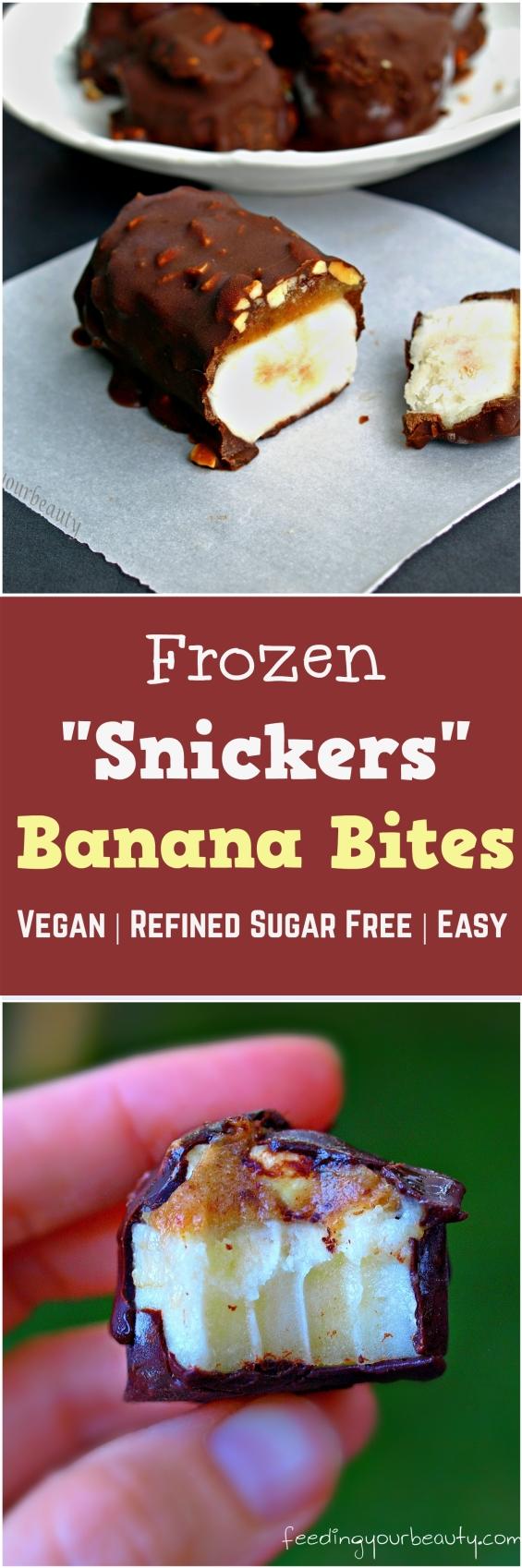 snickers banana bites