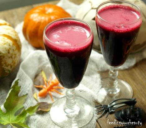 scary cherry beet juice