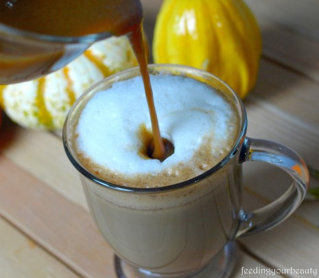 pumpkin spice latte vegan