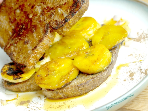 plantain french toast