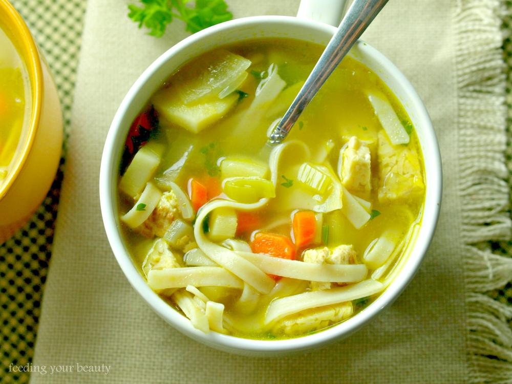 soup overhead