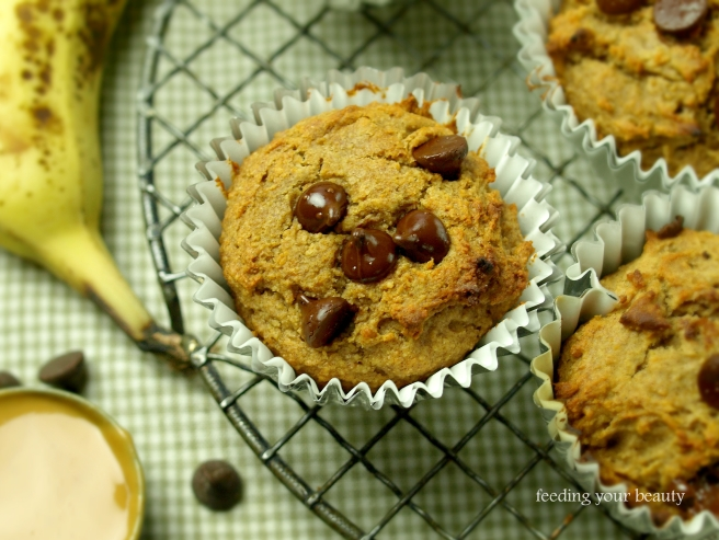 peanut butter buckwheat muffin