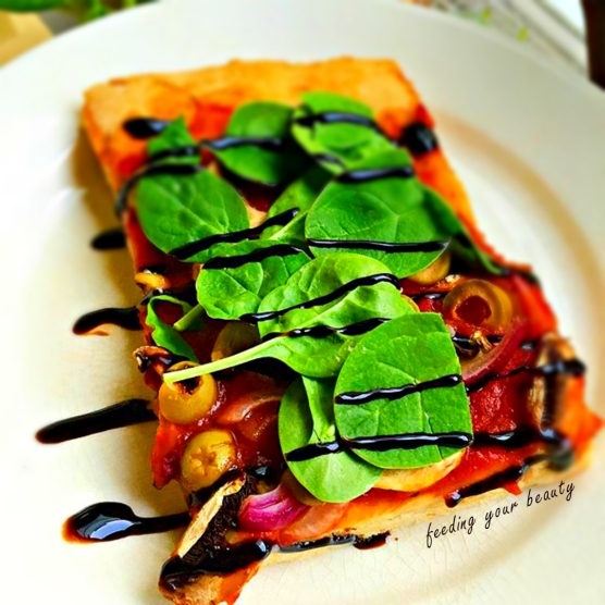 pizza balsamic