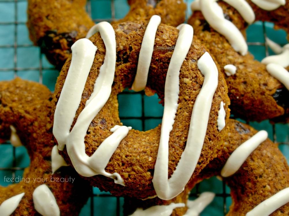 carrot raisin apple muffins