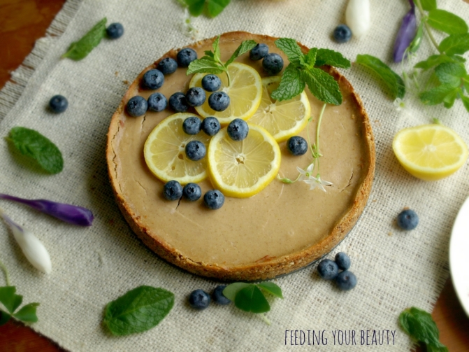 lemon baked cheesecake