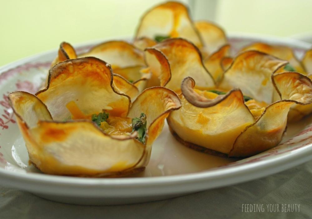 potato cheese asp blossoms