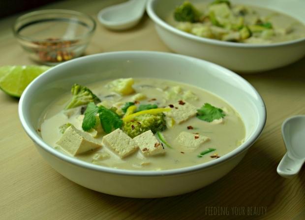 coconut lemongrass soup