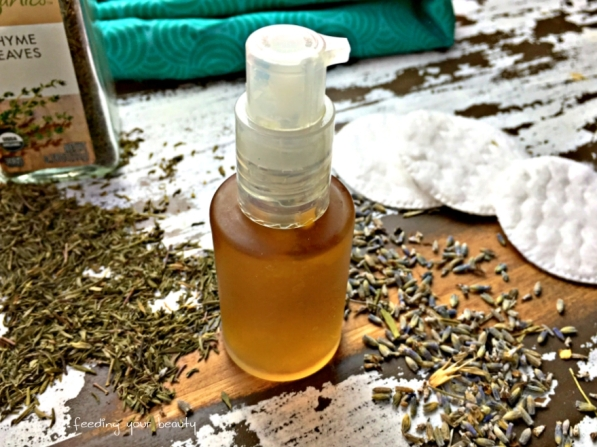 thyme and lavender toner