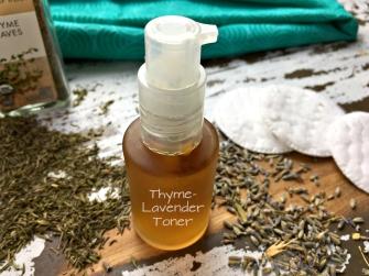 thyme lavender toner