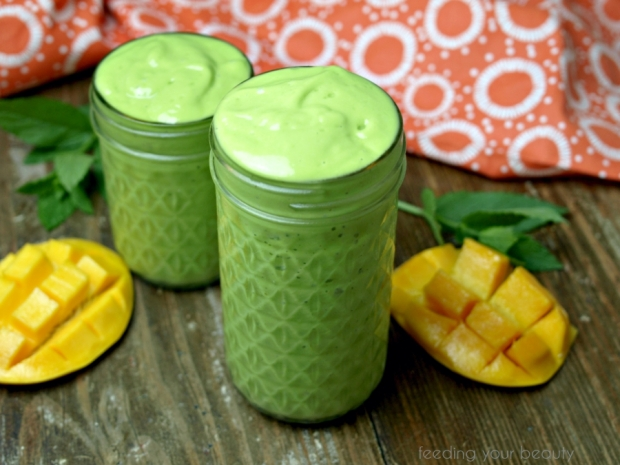 mango avocado mint
