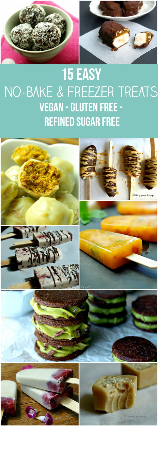 15 no bake treats