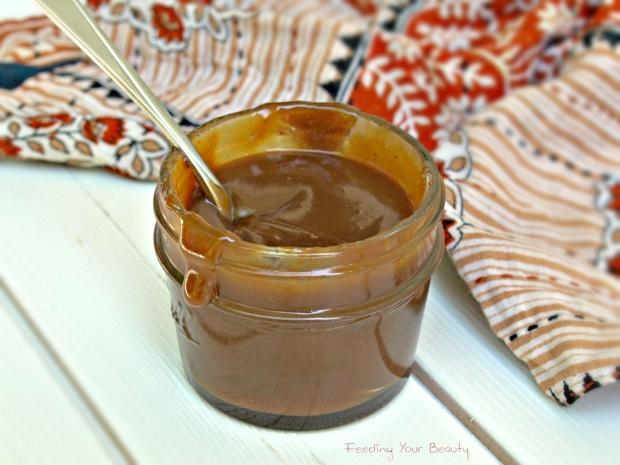 hot caramel sauce