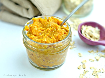 Pumpkin Oat Face Mask - Vegan