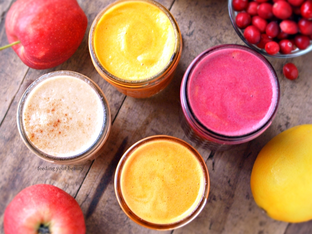 Four Winter Juices to Keep You Healthy, Happy, and Glowing