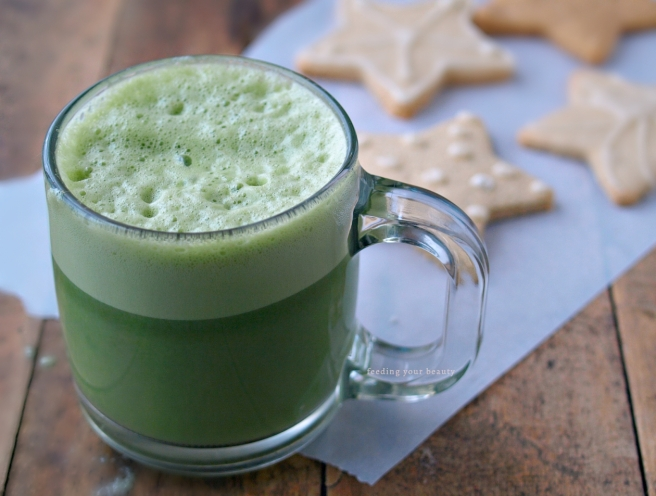 Basic Vegan Matcha Latte