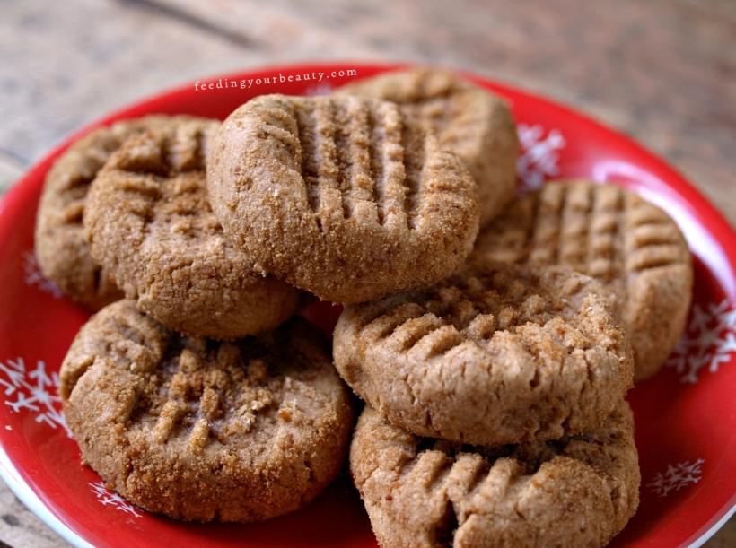 The Best Healthy Peanut Butter Cookies - Vegan, Gluten Free, Oil Free