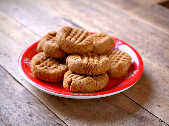 Best Peanut Butter Cookies - Vegan, Gluten Free, Oil Free