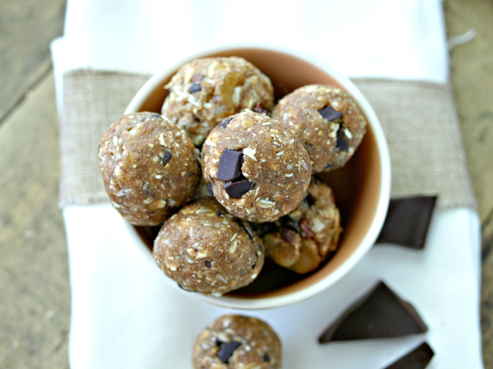 Cowboy Cookie Dough Bites - Vegan and Gluten Free
