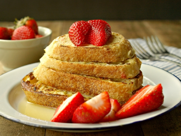 Classic Vegan French Toast