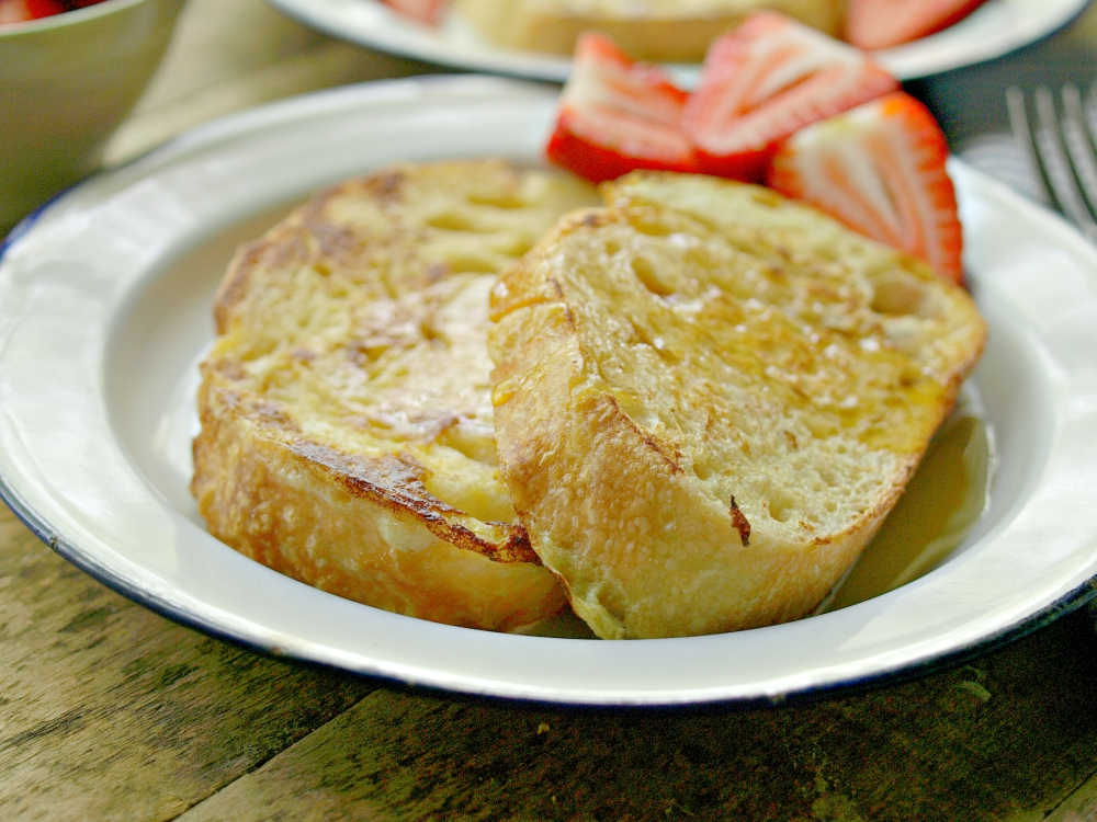 Classic Country Style French Toast - Vegan, can be gluten free