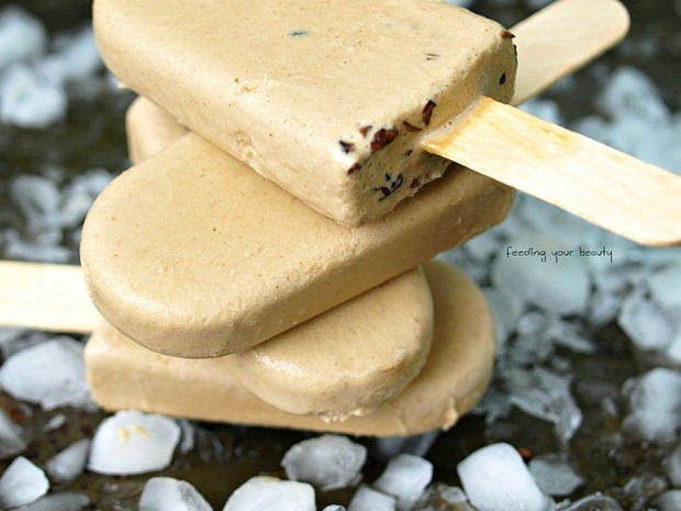 Vegan Coffee and Coconut Milk Popsicles