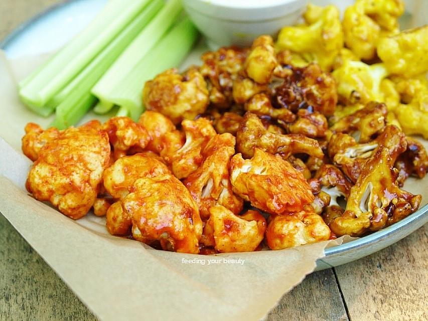Ultimate Cauliflower Wing Sampler - Vegan Gluten Free Easy