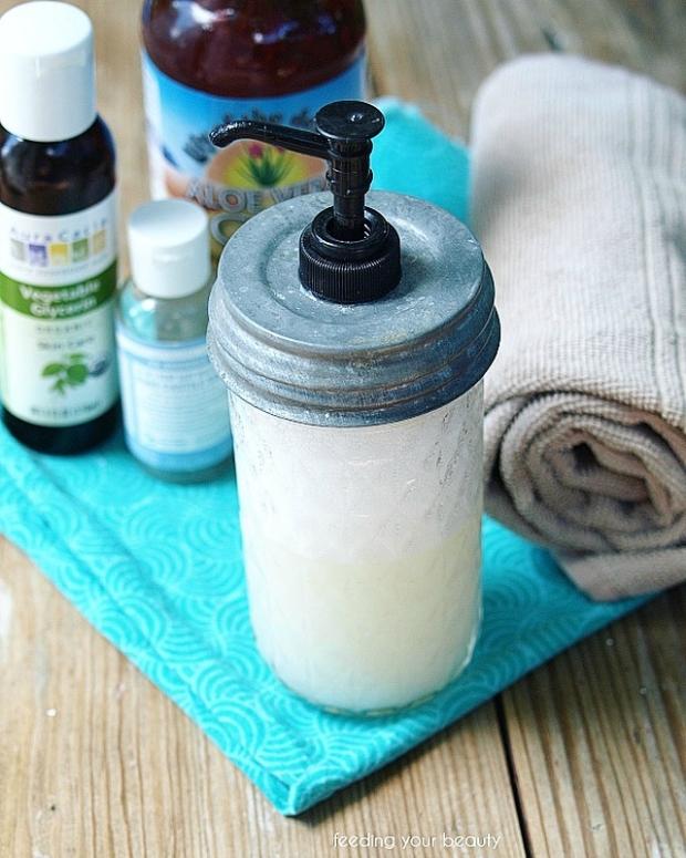 DIY Luxurious Lather Face Wash - Natural, Vegan