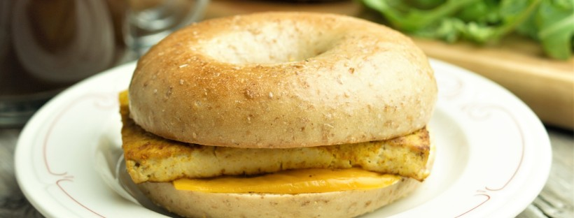 The 10 Minute Vegan Breakfast Sandwich