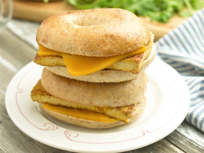 The 10 Minute Vegan Breakfast Sandwich